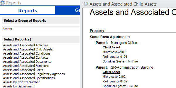 CMMS Asssets Screenshot