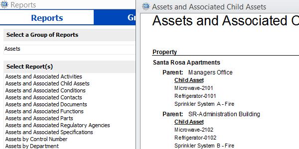 CMMS Asssets Screenshot