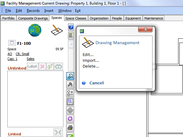 Facility Management Screenshot