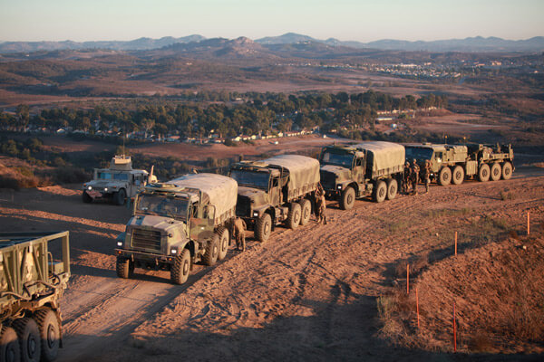 CMMS Solutions Military Trucks